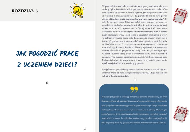 ebook edukacja domowa, jak połączyć edukację domową z pracą zawodową