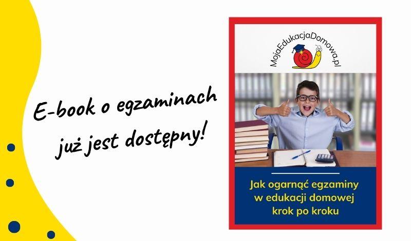 e-book o egzaminach w edukacji domowej już w sprzedaży