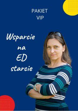 KURS Wsparcie na ED starcie – pakiet VIP